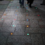 Lights on floor